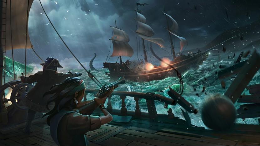Ежемесячные обновления Sea of Thieves начнутся с Dark Relics