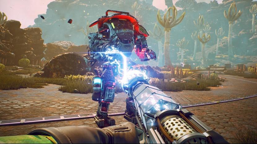 Обновление Outer Worlds позволило увеличить шрифт в игре