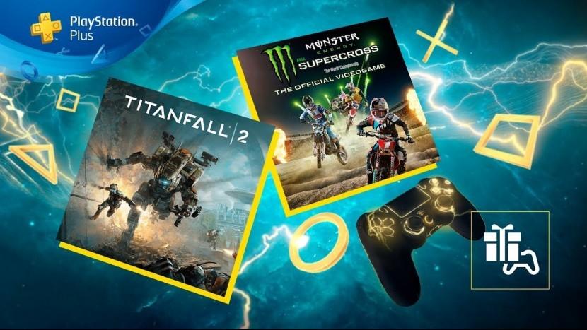 Titanfall 2 и Monster Energy Supercross бесплатно доступные в декабре для PlayStation Plus