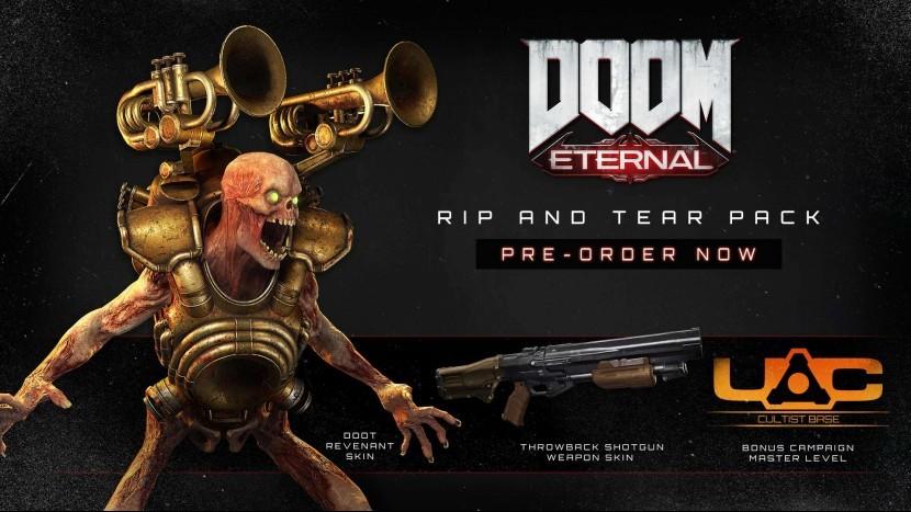 Предварительный заказ Doom Eternal для PC уже доступен со скидкой 20%
