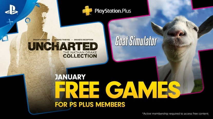 Uncharted: The Nathan Drake Collection и Goat Simulator доступны на PlayStation Plus в этом месяце