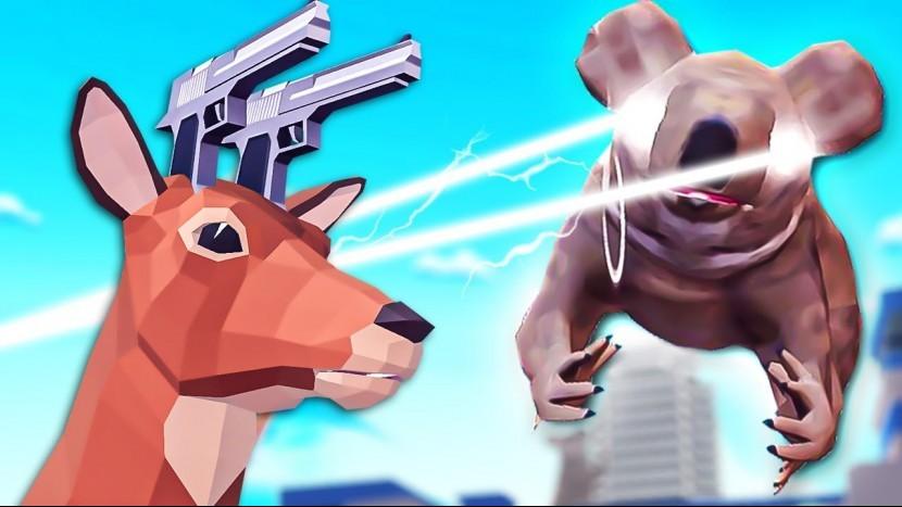 Для поклонников симулятора козла и симулятора гуся, вышла игра-симулятор оленя