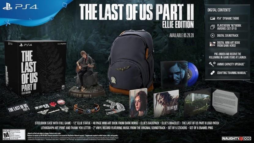 Стартовал предварительный заказ The Last of Us Part 2 Ellie Edition