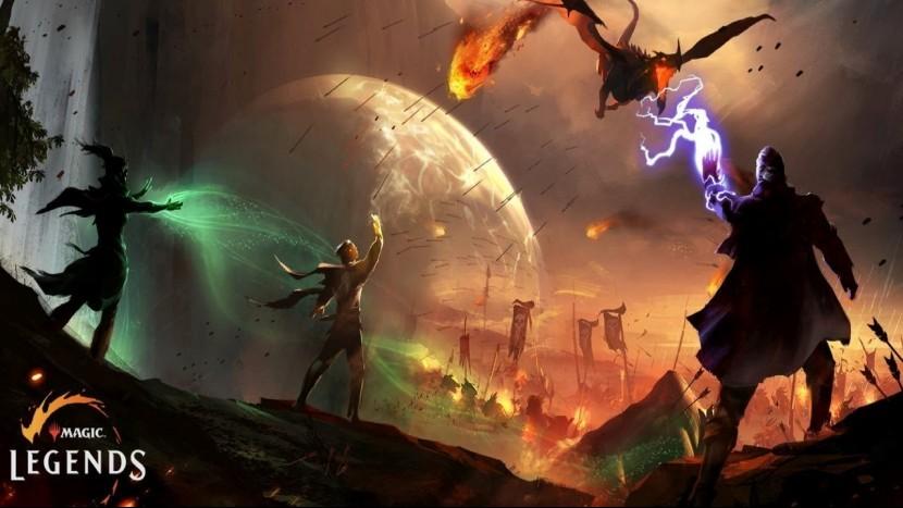 Magic: Legends выглядят как Diablo с колодой