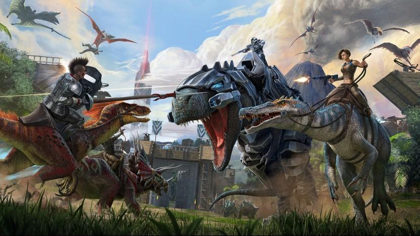 В Steam можно бесплатно поиграть в Ark: Survival Evolved, Descenders и Deep Rock Galactic