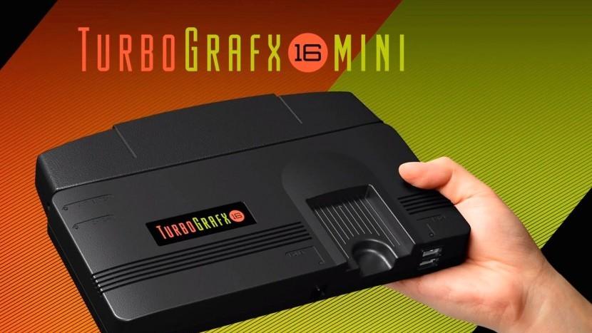 Выпуск TurboGrafx-16 Mini задерживается из-за коронавируса