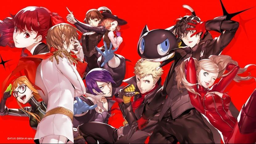 Новый тизер Persona 5 Royal показал состав The Phantom Thieves