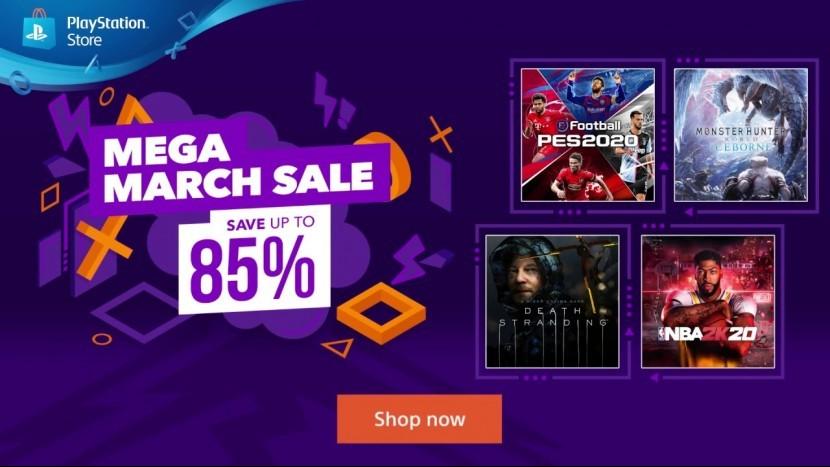 До конца марта в PlayStation Store действуют скидки на более чем 500 игр