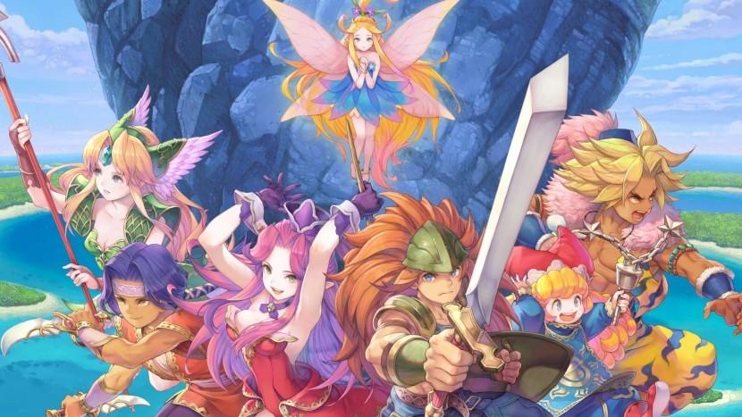 Square Enix выпустила новый трейлер и демо-версию новой Trials of Mana