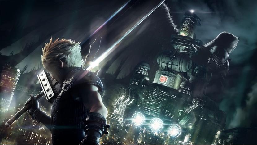 Final Fantasy 7 Remake сопоставима по размеру с другими играми серии
