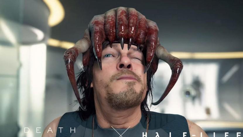 В Half-Life: Alyx нашли пасхалку с отсылкой к игре Death Stranding