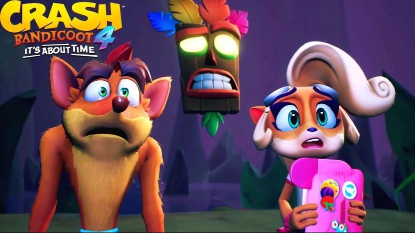 Появились первые оценки критиков Crash Bandicoot 4