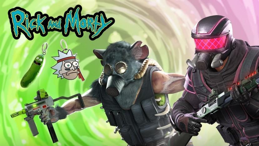 Для Rainbow Six Siege стартовало событие по мотивам Rick & Morty