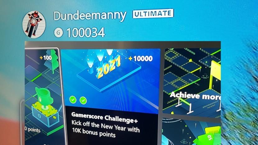 Xbox Gamerscore Challenge возвращается, предлагая баллы Microsoft Rewards за достижения