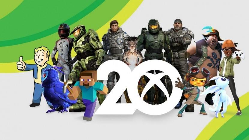 Xbox празднует 20-летие, выпустив новые иллюстрации Halo и многое другое