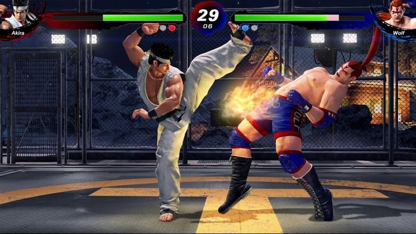 У Sega пока нет планов на Virtua Fighter 6
