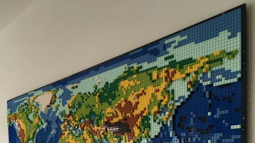 Lego анонсировали самый большой набор из когда-либо существовавших - более 11000 деталей