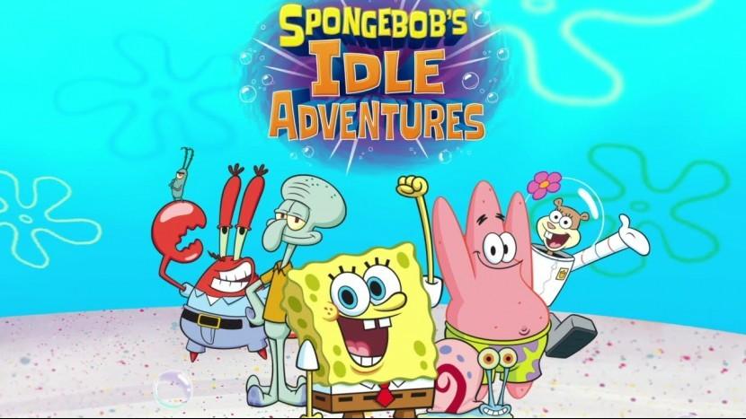 Анонсирована мобильная игра во вселенной Губки Боба - Idle Adventures