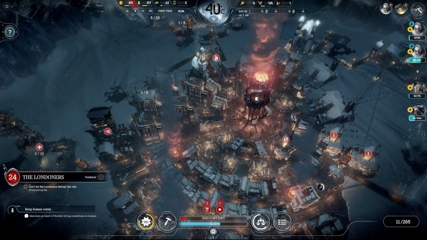 Игра Frostpunk доступна бесплатно в магазине Epic Games Store