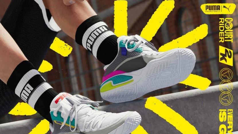 Puma выпустили новые кроссовки под брендом NBA 2K21