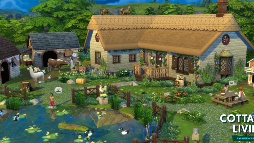 Расширение Cottage Living для The Sims 4 выйдет 22 июля