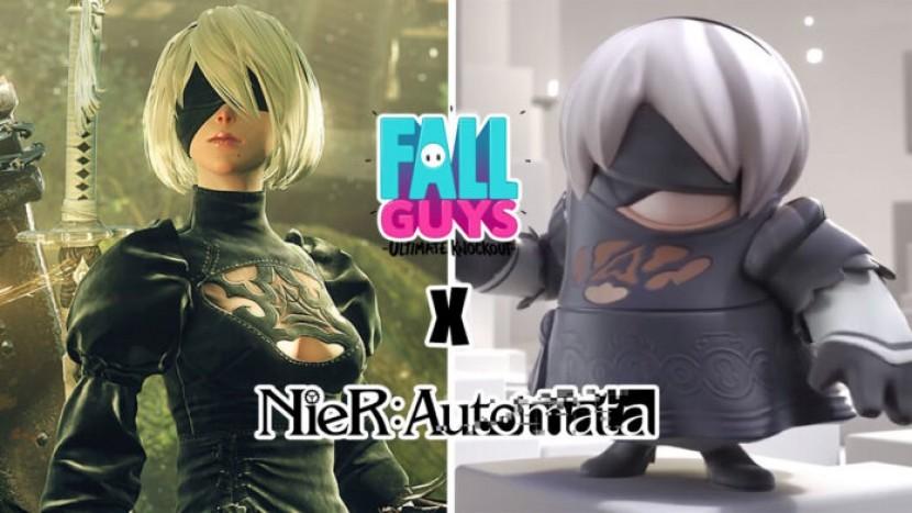 В Fall Guys добавят 2B из Nier Automata в качестве нового скина
