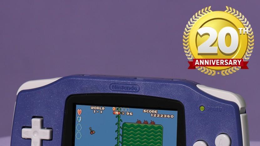 Консоли Game Boy Advance исполнилось 20 лет