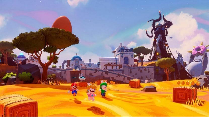 Ubisoft анонсировали Mario + Rabbids: Sparks of Hope