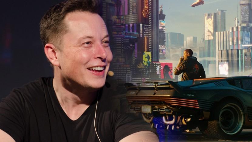 Илон Маск: В автомобилях Tesla можно играть в игры уровня Cyberpunk 2077