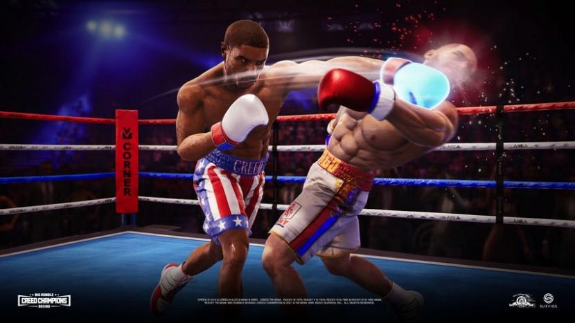 Боксерская игра Big Rumble Boxing: Creed Champions выйдет 3 сентября