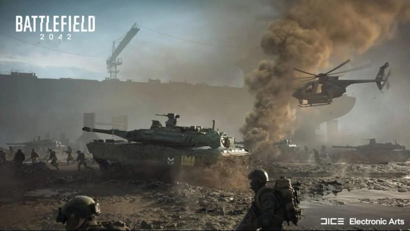 Геймплейный трейлер Battlefield 2042 показал матч на 128 игроков