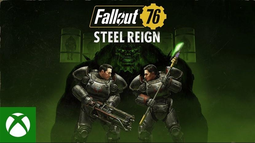 Расширение Steel Reign для Fallout 76 выйдет 7 июля