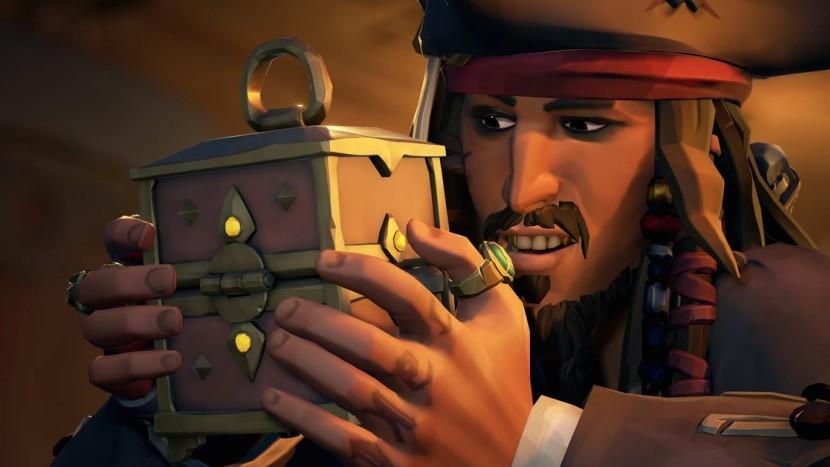 Обновление Sea of Thieves добавит капитана Джека Воробья из «Пиратов Карибского моря»