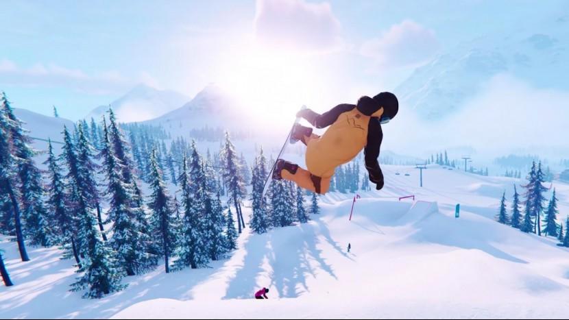 Симулятор катания на сноуборде Shredders выйдет в декабре