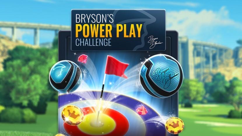В Golf Clash стартовало событие Bryson's Power Play Challenge