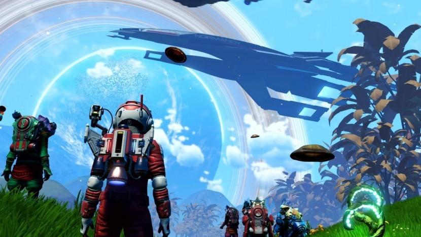 Последний патч к No Man's Sky улучшил взрывы в игре
