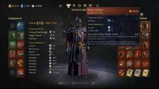 оружие и доспехи King's Bounty 2