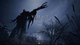 главное меню Resident Evil Village