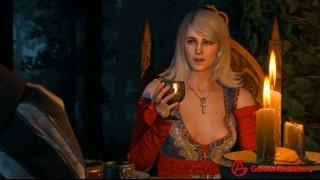 Ведьмак 3 как переспать с Кейрой Мец