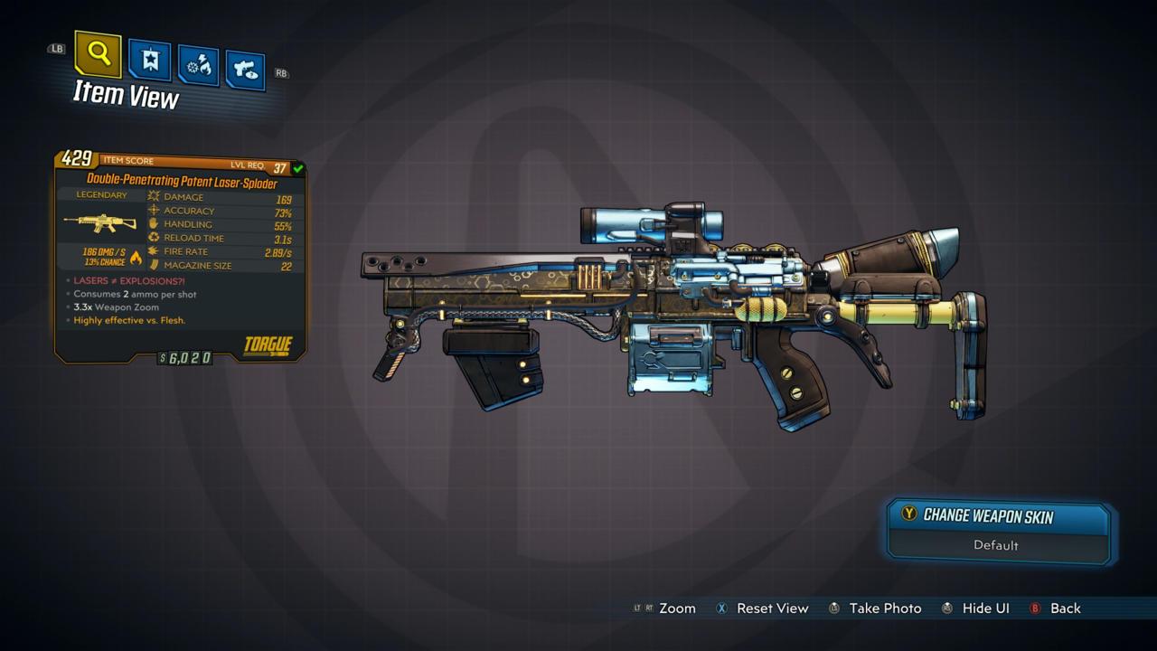 оружие Borderlands 3