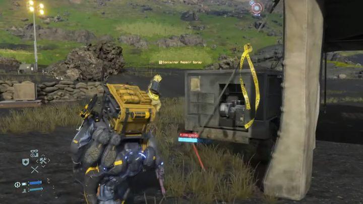 геймплей Death Stranding