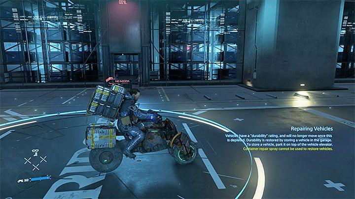 новый мотоцикл Death Stranding