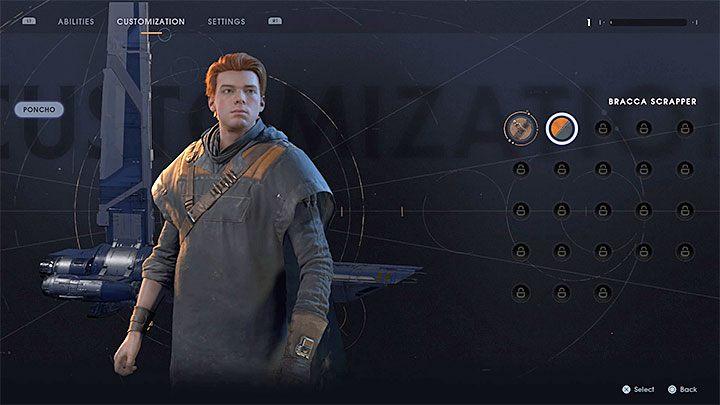 внешность персонажа Star Wars Jedi: Fallen Order
