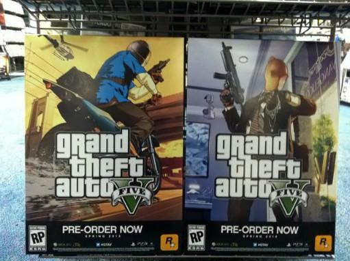 Новый артворк Grand Theft Auto V