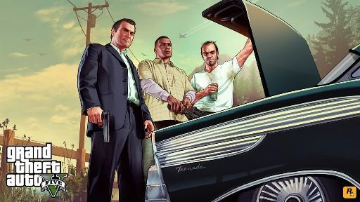 Grand Theft Auto V - вне закона
