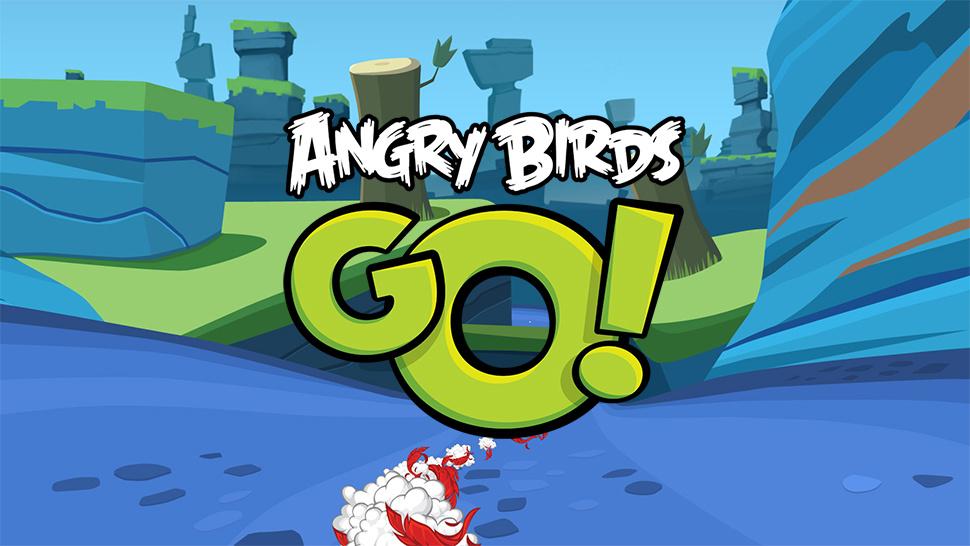 Angry Birds Go! Новая игра про птиц в вашем мобильном