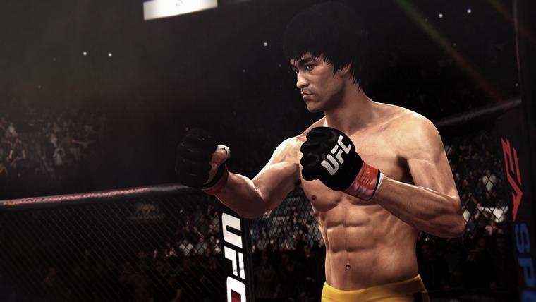 Брюс Ли в EA Sports UFC