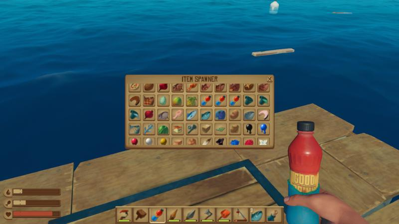 скачать Raft: Чит-Мод/Cheat-Mode [Update 8 (3376123)]