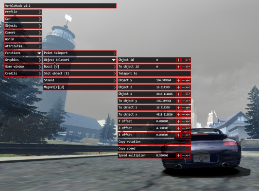 скачать Need for Speed: Most Wanted (2005): Чит-Мод/Cheat-Mode (VerbleHack v4.1)