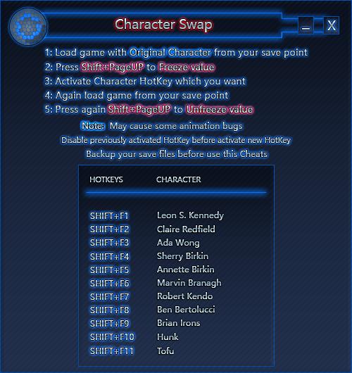 скачать Resident Evil 2: Трейнер/Trainer (+14 / Character Swap) [2.2 | STEAM]